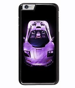 PRINTVISA Sports Car Premium Metallic Insert Back Case Cover for Apple Iphone 6 - D6054