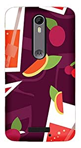 WOW Printed Designer Mobile Case Back Cover For Motorola Moto X3 (3rd Generation)