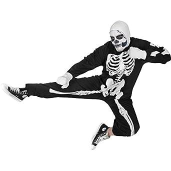 Adult Karate Kid Skeleton Halloween Costume