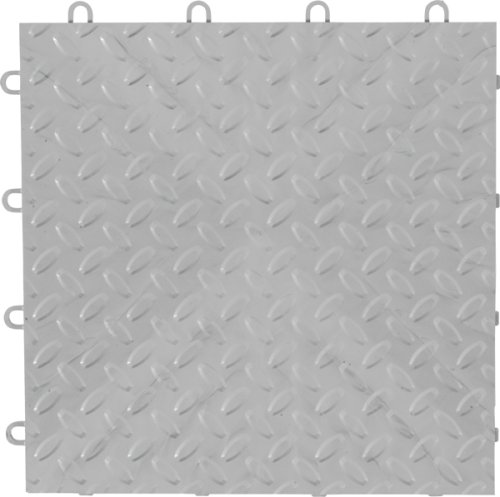 Images for Gladiator GarageWorks GAFT04TTPS Silver Floor Tile, 4-Pack