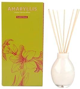 Paddywax Winter Garden Fragrance Diffuser Set, Amaryllis, 4-Ounces