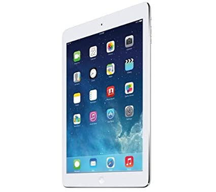 "Apple iPad Air tactile 9,7"" (24,64 cm) Apple A7 1,4 GHz 16 Go Wi-Fi Argent"