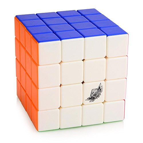 Cyclone Boys 4X4 Feiyue Stickerless Speed Cube Medium Mixed - 1
