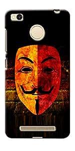 NAV PRINTED BACK COVER For Xiaomi Redmi 3S