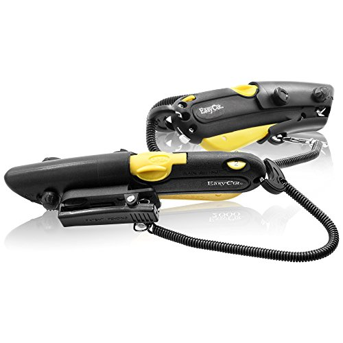 EASY-CUT Safety Box Cutter Yellow 2000 Series EZ Cut / Easy Cutter