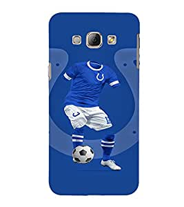EPICCASE football fool Mobile Back Case Cover For Samsung Galaxy A7 (Designer Case)