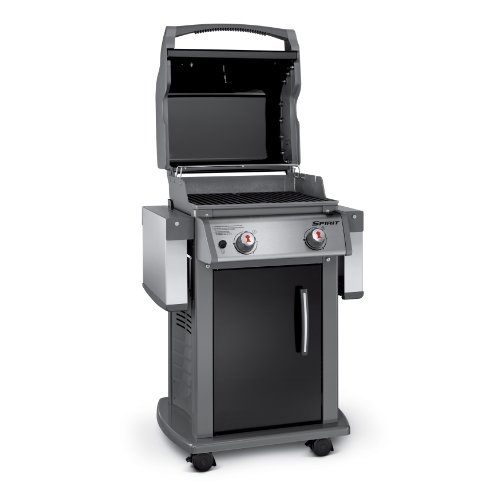 weber 46110001 spirit e210 liquid propane gas grill black ebay. Black Bedroom Furniture Sets. Home Design Ideas