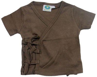 Organic Baby Clothes Short Sleeve Kimono GOTS
