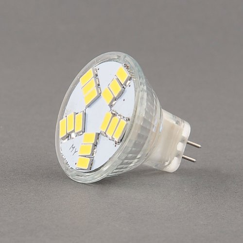 {Factory Direct Sale} (Pack Of 4) Mr11 Gu4 Socket 4W 15 Led 5630 Chip Smd Light Lamp Bulb Dc Ac 12V 420Lm 6500K Pure Cool Day White Energy_Saving Ultra_Bright