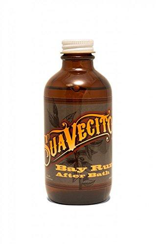 Suavecito Bay Rum After Bath, 4 oz Bay Bath