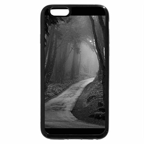 iPhone 6S Case, iPhone 6 Case (Black & White) - M y s t e r y . r o a d