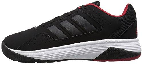 Adidas Performance Men's Cloudfoam Ilation Basketball Shoe,Black/Black/Power Red,11 M US