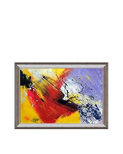 Pol Ledent Abstract 96319012 Framed Hand-Painted Reproduction