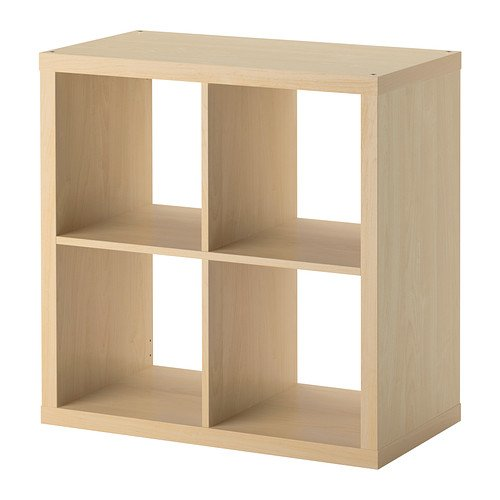 ikea kallax bookcase shelving unit display birch effect brown modern shelf furniture bookcases. Black Bedroom Furniture Sets. Home Design Ideas