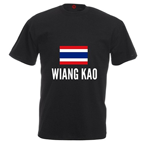 T-shirt Wiang kao city black