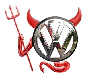 Red Devil Car Sticker Decal For Toyota Vw Camper Honda Bmw