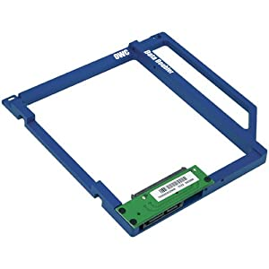 OWC Data Doubler Optical Bay Hard Drive/SSD Mounting Solution for select Apple Laptop Models. Model OWCDDAMBS0GB
