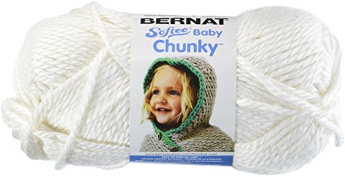 Bernat Softee Baby Chunky Yarn, Solid, 5 Ounce, Cream Puff, Single Ball (Big Iron Auction compare prices)