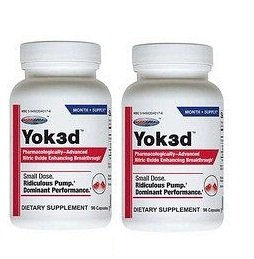 Usp Labs Yok3d, 90 Capsules, Pack of 2