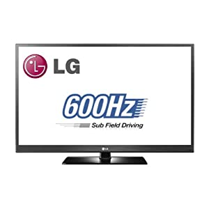 LG 50PV450 50-Inch 1080p 600Hz Plasma HDTV with Picture Wizard II, 3,000,000:1 Contrast Ratio