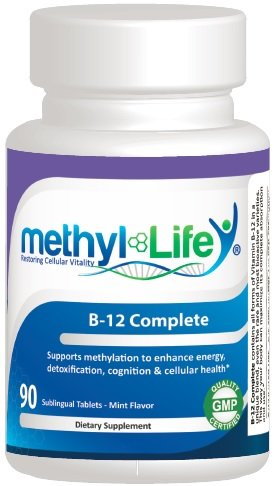 B12 Complete (With All Forms Of B12) - 5,000 Mcg Per Sublingual Tablet (90 Count)