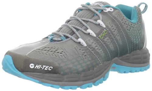 Hi-Tec Women's V-lite Infinity HPi Running Shoe,Grey/Scuba,8 M US