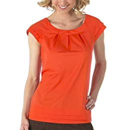Product Image Merona® Collection Pleated Top - Orange Blaze