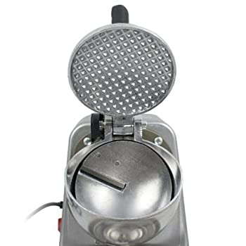 Zeny Ice Shaver Machine Ice Crusher Electric Snow Cone Maker Stainless Steel Shaving Ice 145lbs Per Hour