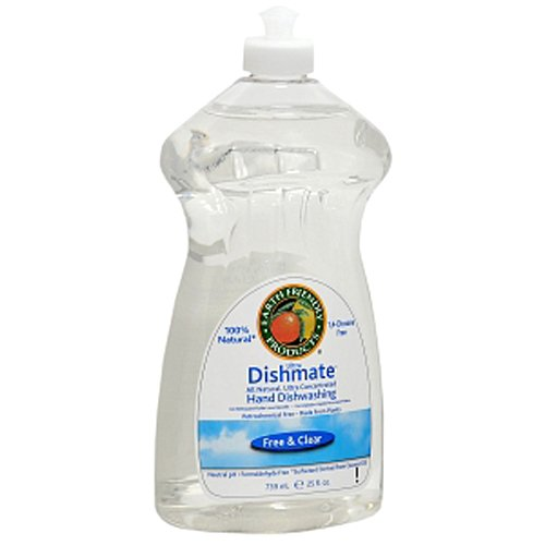 earth-friendly-products-dishmate-dish-liquid-free-and-clear-25-ounce-pack-of-6