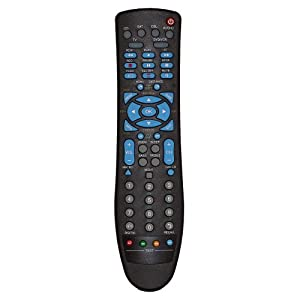 7dayshop Universal 6 in 1 Remote Control with Learning Function - TV, DVD, VCR, SAT, DTT/TNT, CD/LD/HIFI/SKY/ SUMVISION MEDIA PLAYERS