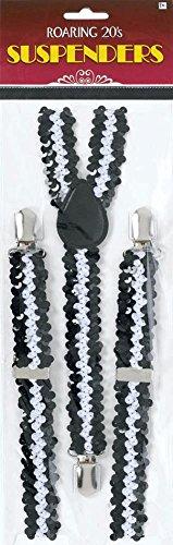 Roaring 20s Sequin Suspenders
