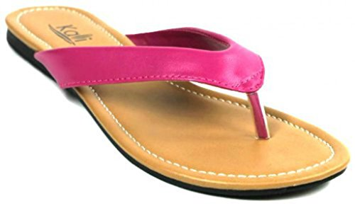 Kali Footwear Women's Cocoa Flat Thong Sandals
