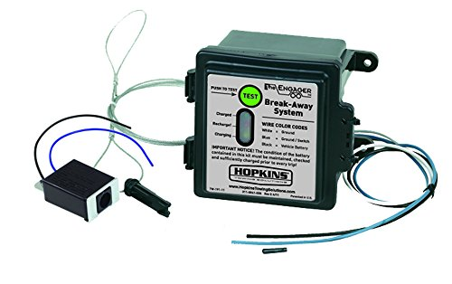 Hopkins 20100 Engager Break Away Kit with LED Battery Monitor (Trailer Break Away Kit compare prices)