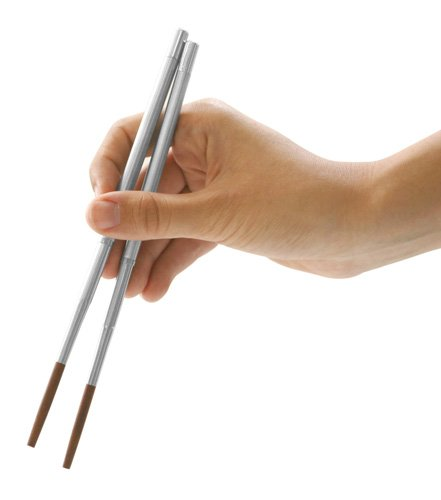 Kikkerland Collapsible Travel Chopsticks