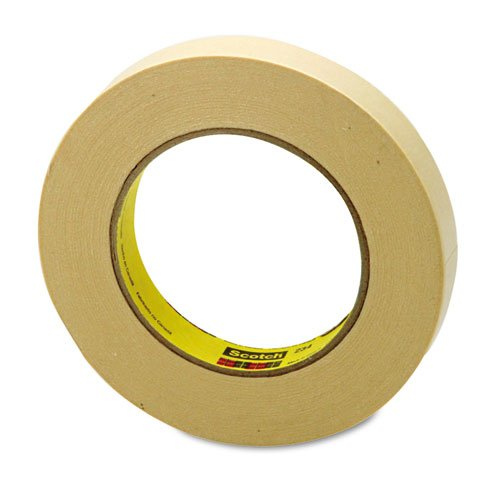 3Mcommercl General Purpose Masking Tape 234, 3/4 X 60 Yards, 3 Core, Natural 3m  234 30mmx55m  general purpose