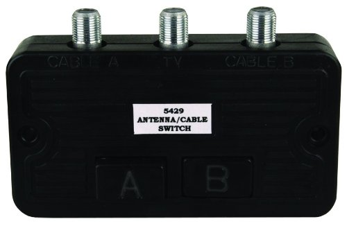 JR Products 47845 Cable TV A/B Switch Box (Switch Box For Tv compare prices)