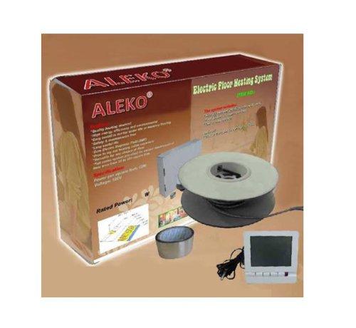 Aleko Sws1750W 120-Volt Electric Tile Radiant Floor Heating System Kit, 1750 Watt/150 Square Feet