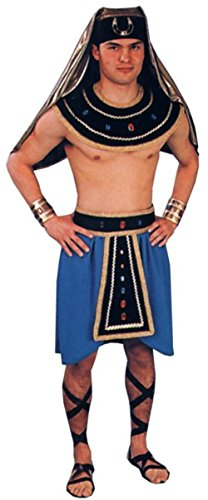 Alexanders Costumes Mens Pharoah Theme Party Egyptian Fancy Dress, Standard (40-44) (Pharoah Hat)