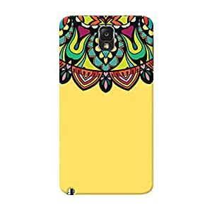 Garmor Designer Silicone Back Cover For Samsung Galaxy Note 3 N9000
