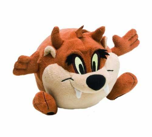 Looney Tunes 233097 - Crazy Taz Peluche a Palla con Movimento Displaybox