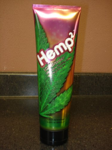 Hemp2 10x Bronzer Ultra Dark Tanning Lotion w/ Hemp 9oz