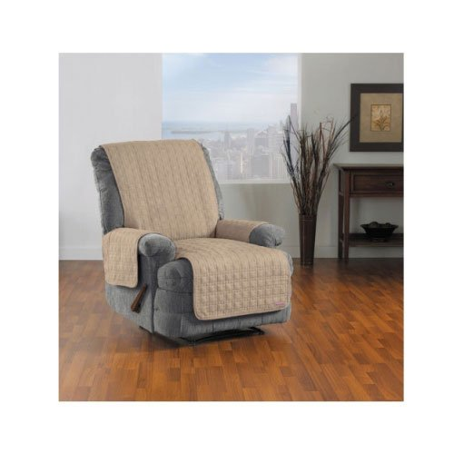 QuickCover Waterproof Recliner Protector, Biscuit (Quilted Waterproof Seat Protector compare prices)
