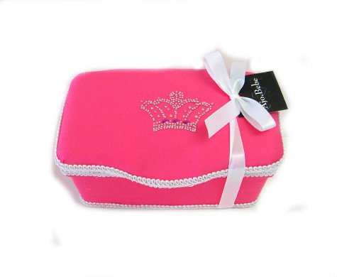 Crown Pink Boutique baby wipes case