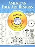 img - for American Folk Art Designs [With CDROM] (Paperback)--by Joseph D'Addetta [2006 Edition] book / textbook / text book
