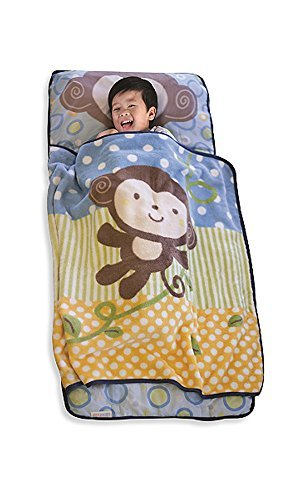 kidsline Nap Mat, Boy Monkey/Vine (Discontinued by Manufacturer)