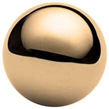 Brass C260 Ball, Grade 200, Reflective Finish, Precision Tolerance, ASTM B134, Inch