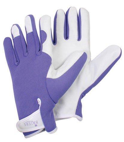 Breirs Womens/Ladies Gardener Gloves Purple One Size Medium