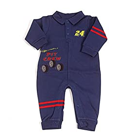 nascar baby clothes 24 Jeff Gordon Coverall
