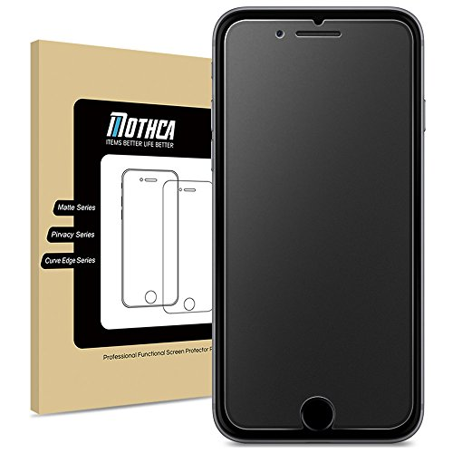 Mothca iPhone 6 6S Screen Protector Matte Anti-Glare & Anti-Fingerprint 9H HD Clear Tempered Glass Film Smooth as Silk--Lifetime Replacements Warranty (iPhone 6/6s) (Iphone 6 With Warranty compare prices)