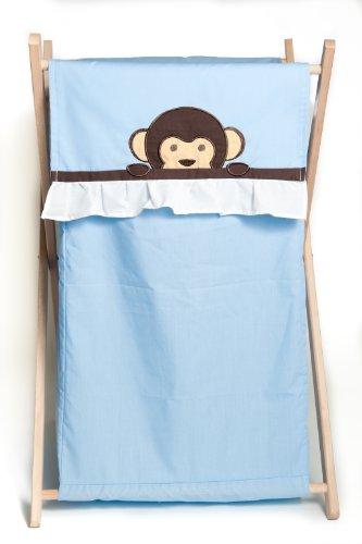 Pam Grace Creations Laundry Hamper, Maddox Monkey front-610855
